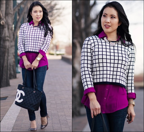 How to Layer a Crop Top Fashinably