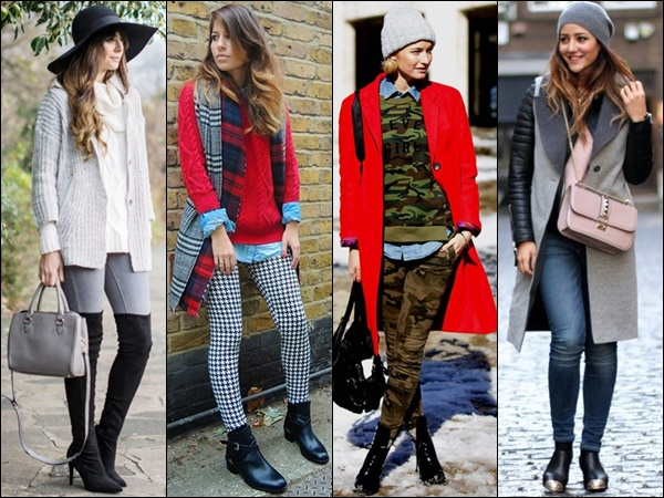 Layering and Print Mixing Fashion Style