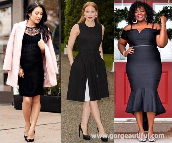 Classy and Elegant Cocktail Little Black Dress