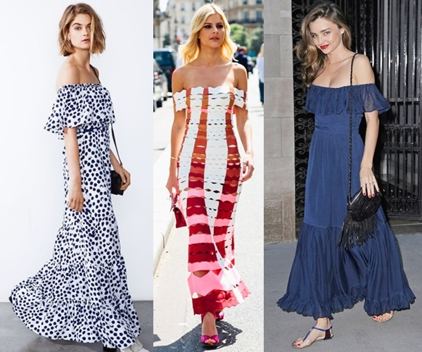 off-shoulder-summer-maxi-dress-outfit-ideas