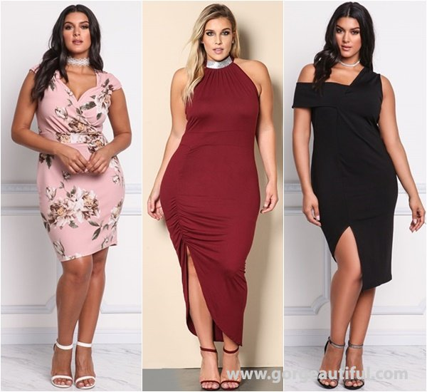 Plus Size Dress Codes to a Cocktail from debshops