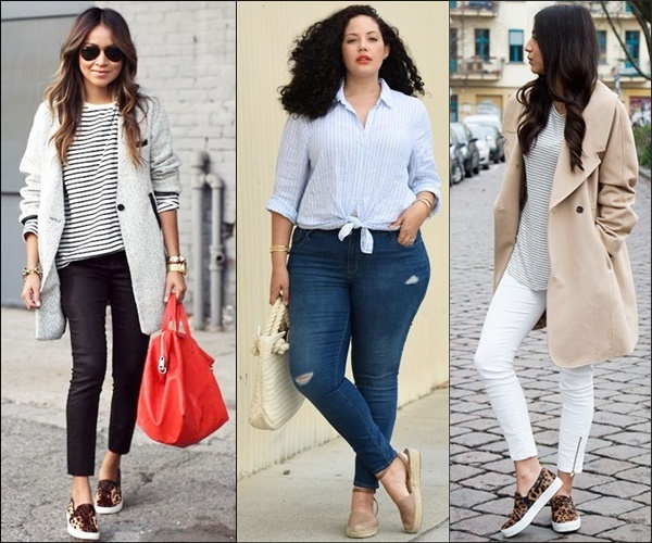 Ways to Wear Flat Espadrilles with Skinny Jeans