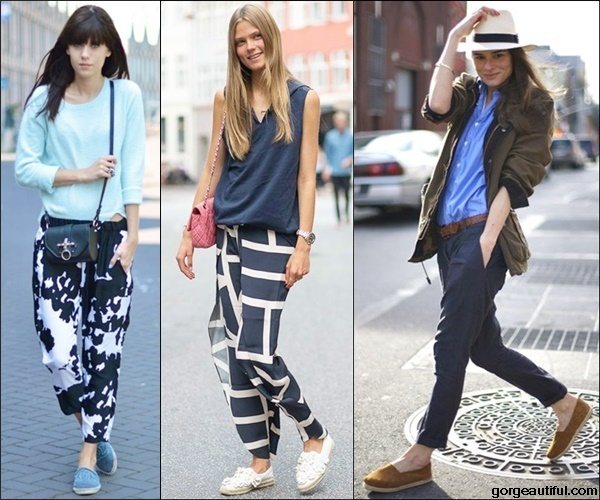 Ways to Wear Stylish Espadrilles with Trousers